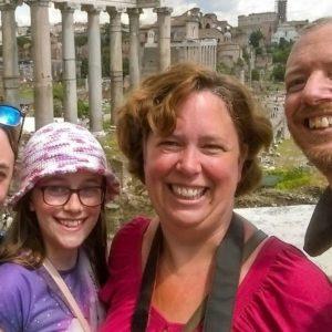 Happy Kids! Family Walking Tour Of Rome
