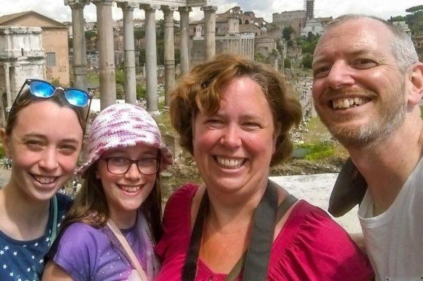 walking tour di roma per famiglie