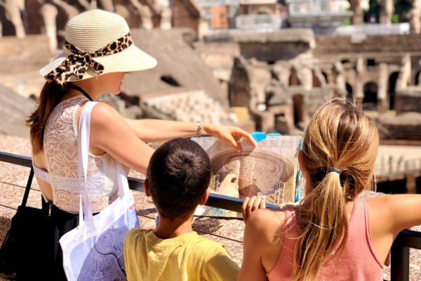 rome walking tour_family tours_kid-friendly colosseum tour