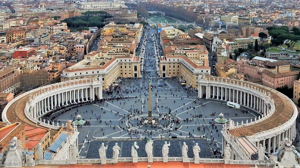 St. Peter's Basilica Dome Tour Information, Vatican City