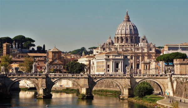 St. Peter's Basilica Dome Tour in Vatican City, Italy