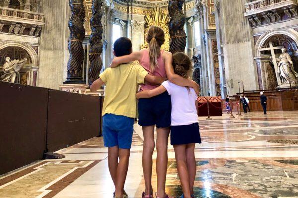 vatican tour for families