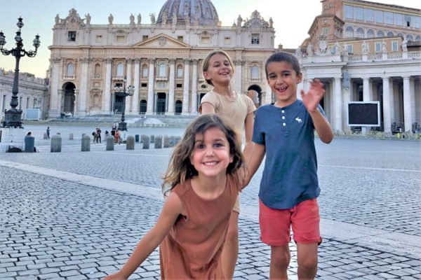 vatican tour with kids
