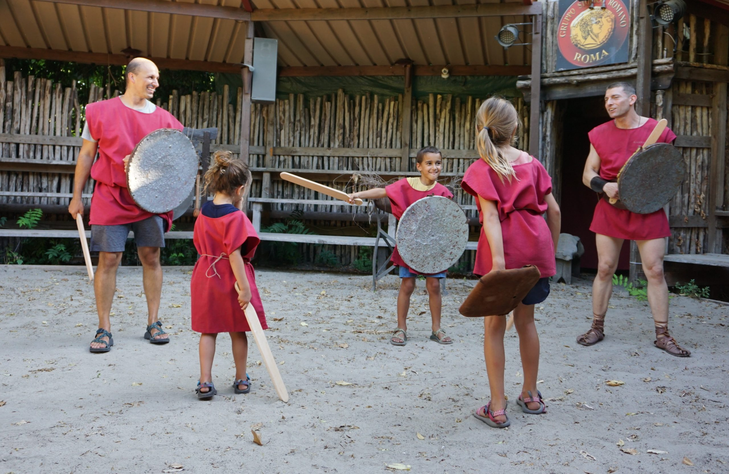Gladiator School In Rome: 6 Good Reasons To Book A Training Class For You(r Family)