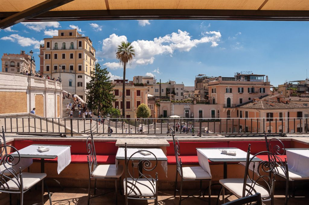 il palazzetto rooftop bar roma