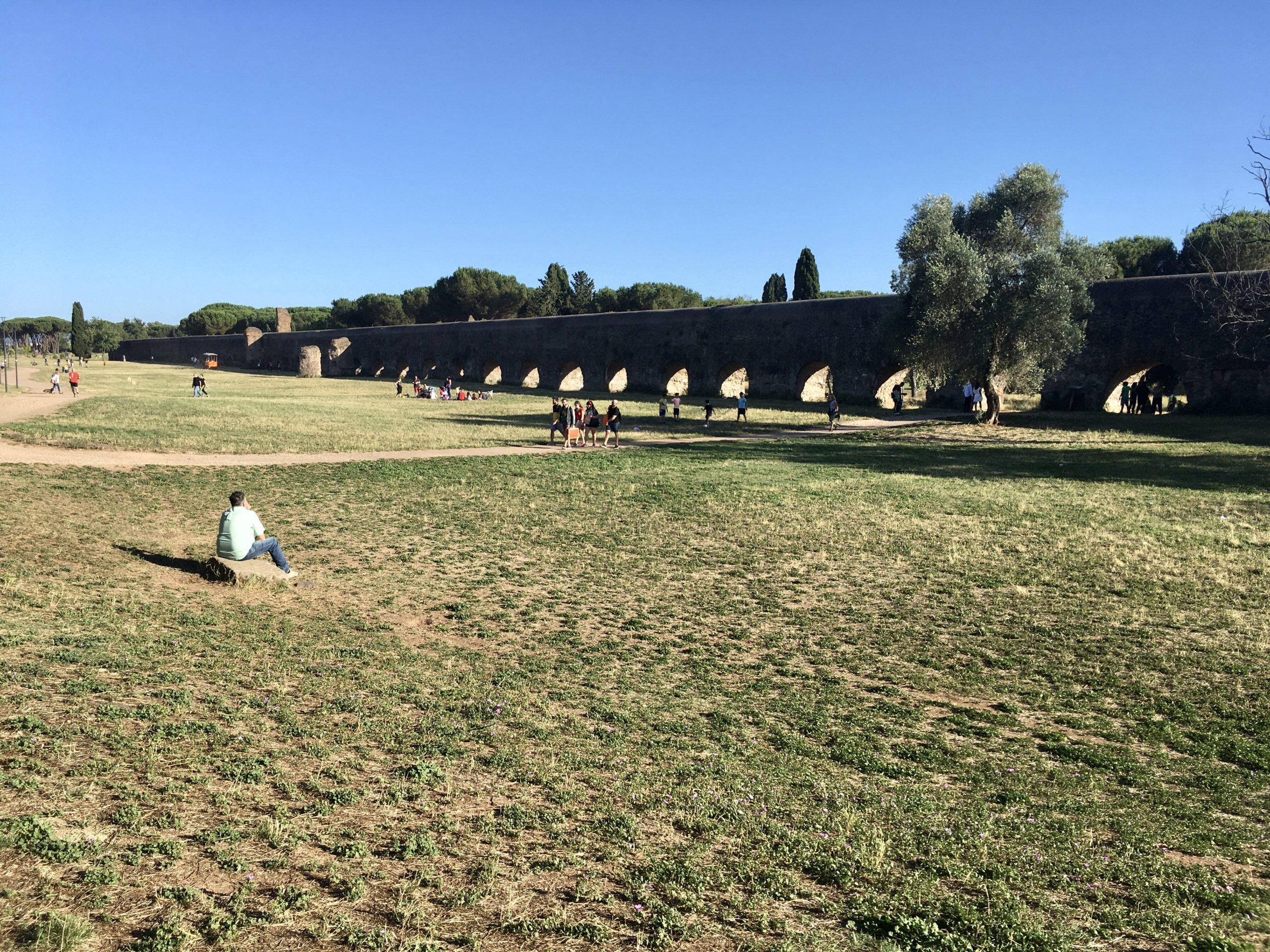 il parco degli acquedotti di Roma