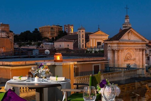 rooftop hotel roma