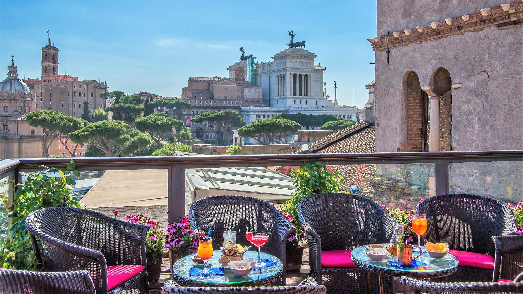 I Migliori Rooftop Bar Di Roma. La Grande Bellezza, Ai Tuoi Piedi.