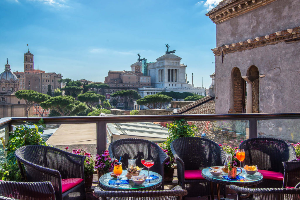 rooftop bar rome