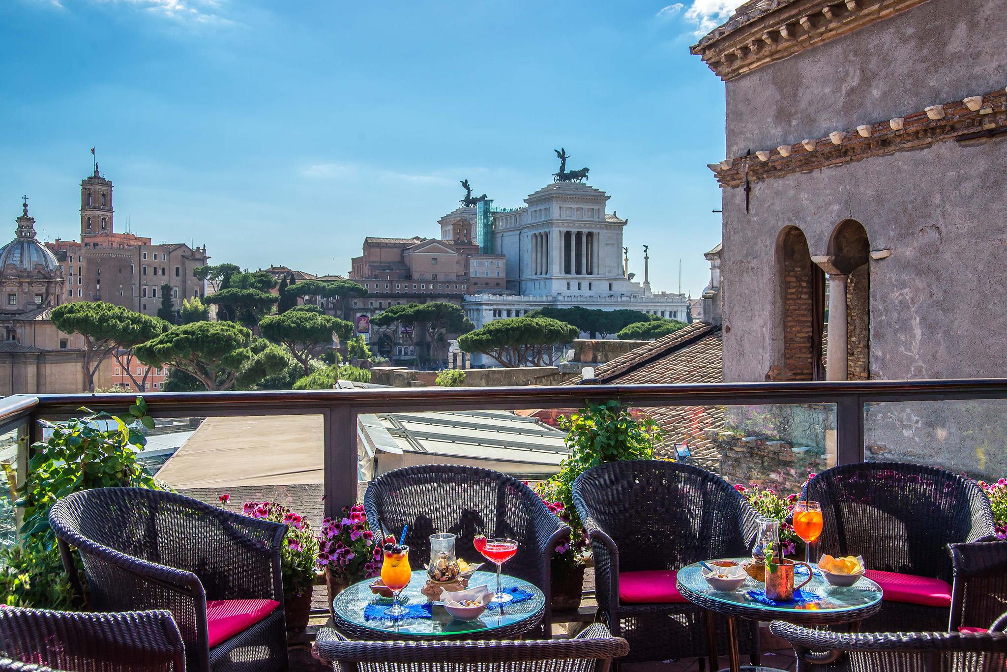 terrazze hotel roma