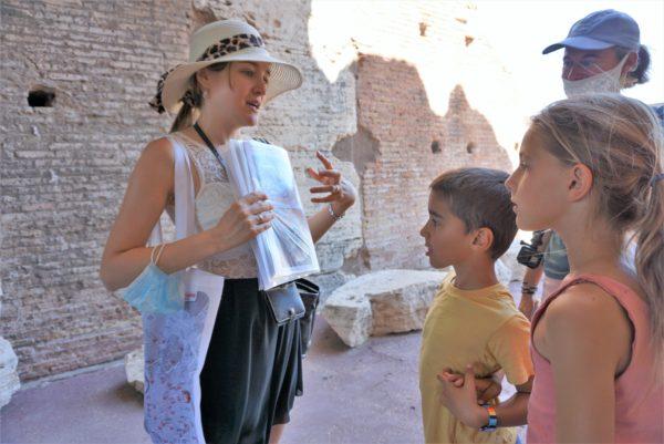 visita guidata colosseo per i bambini