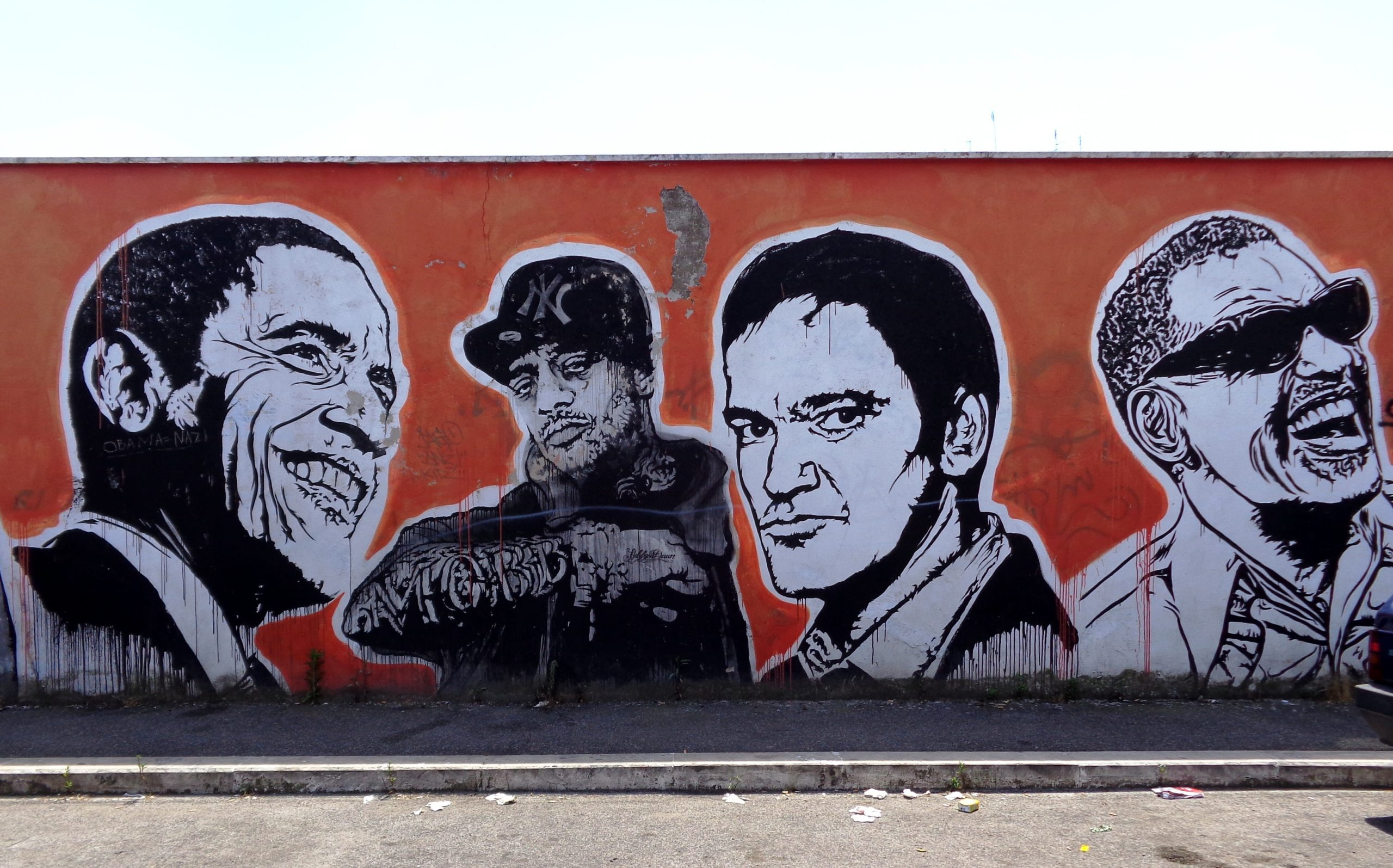 wall of fame by JBRock ostiense roma