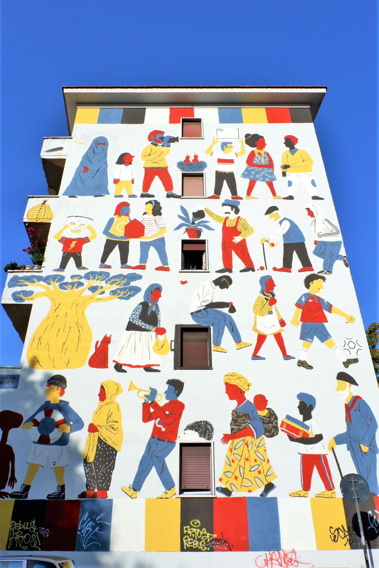 luogo comune street art san lorenzo