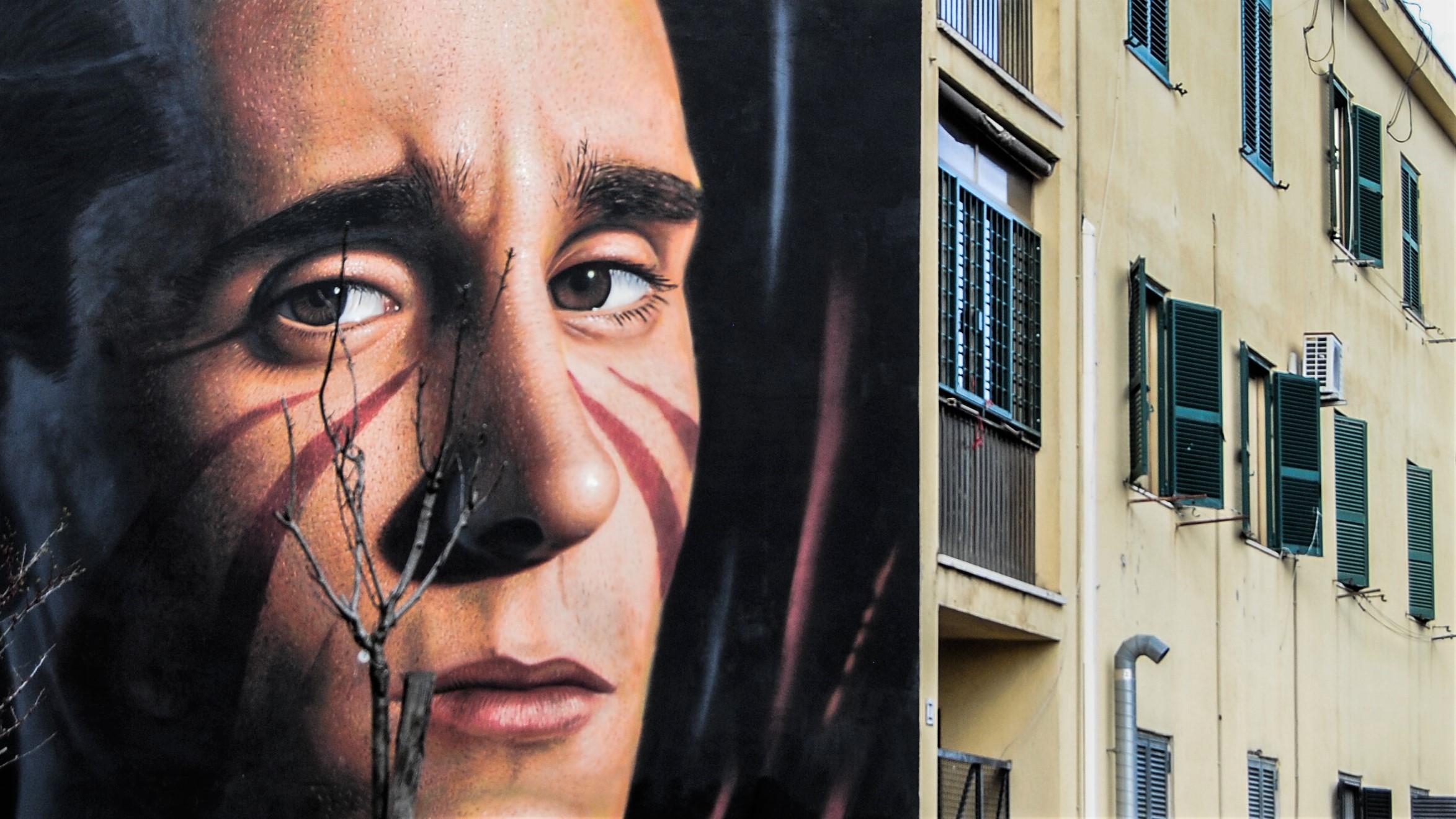 Street Art Trullo