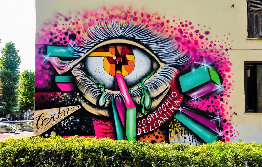 trullo murales cerino specchio dell'anima