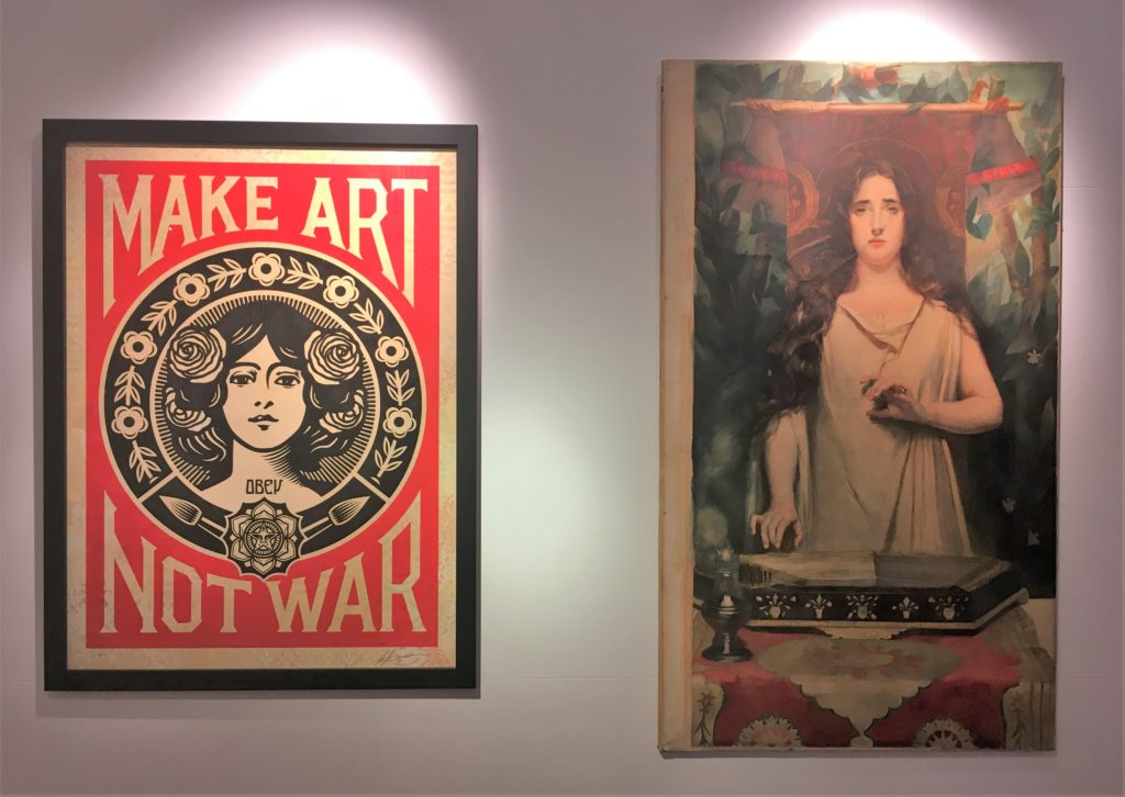fairey in mostra a roma