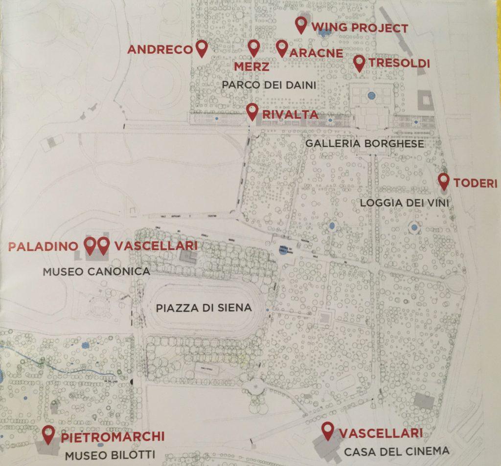 Cartina Di Villa Borghese Roma.Back To Nature Mostra Di Arte Contemporanea A Villa Borghese You Local Rome