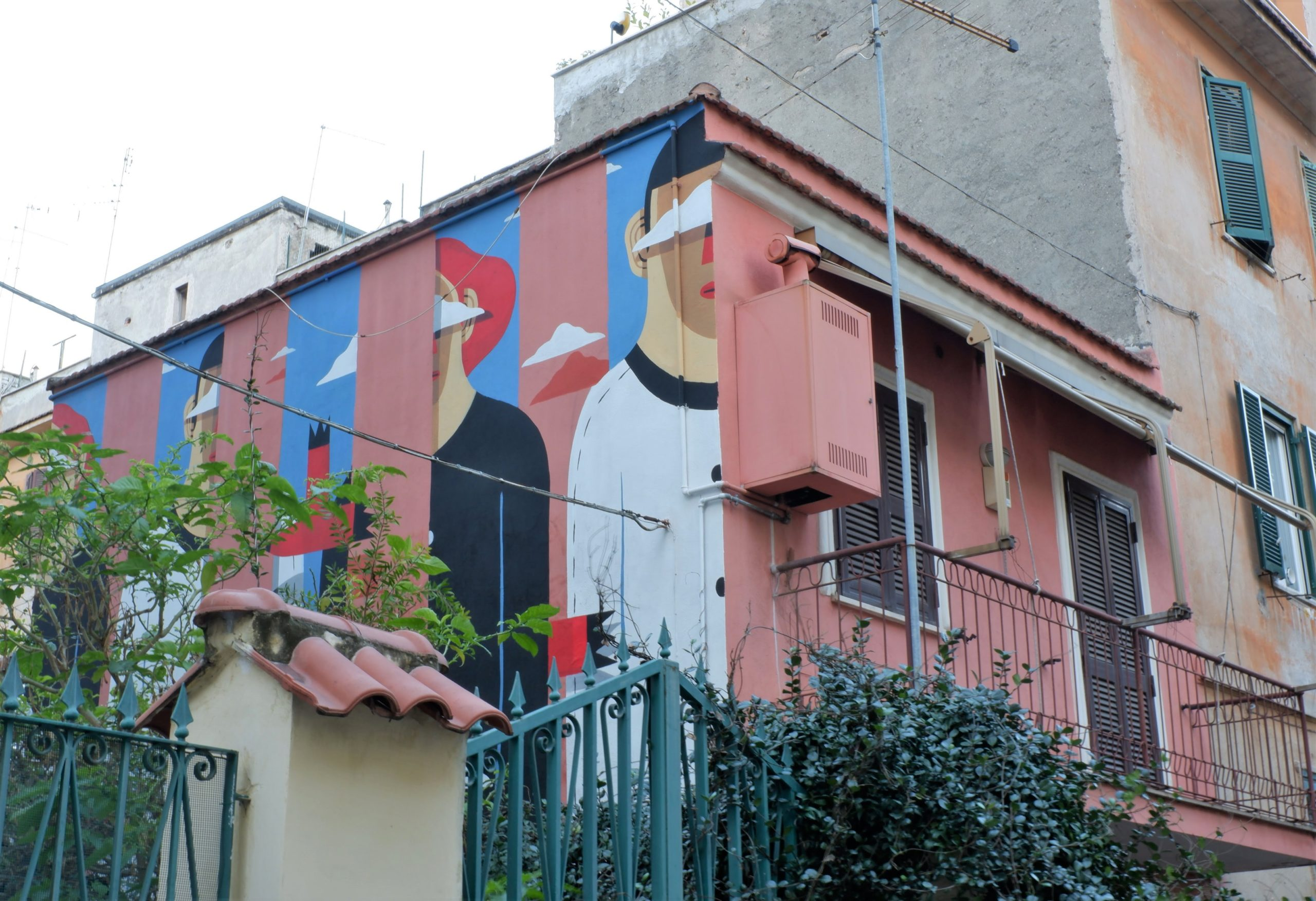 agostino iacurci street art roma tor pignattara