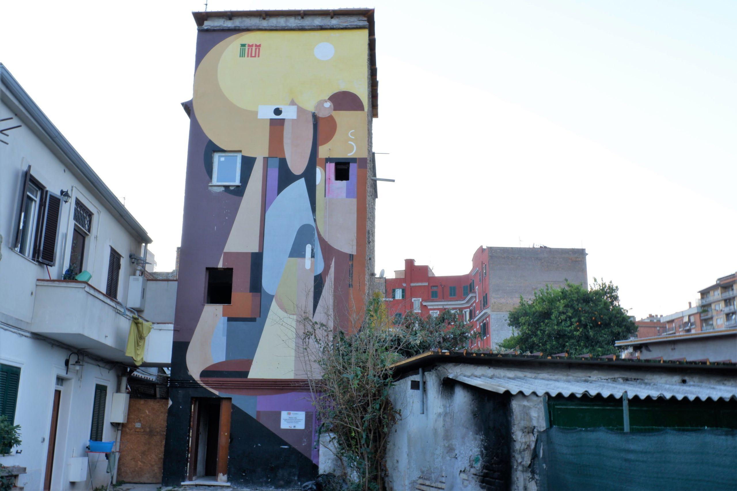 alexey luka murales tor pignattara roma
