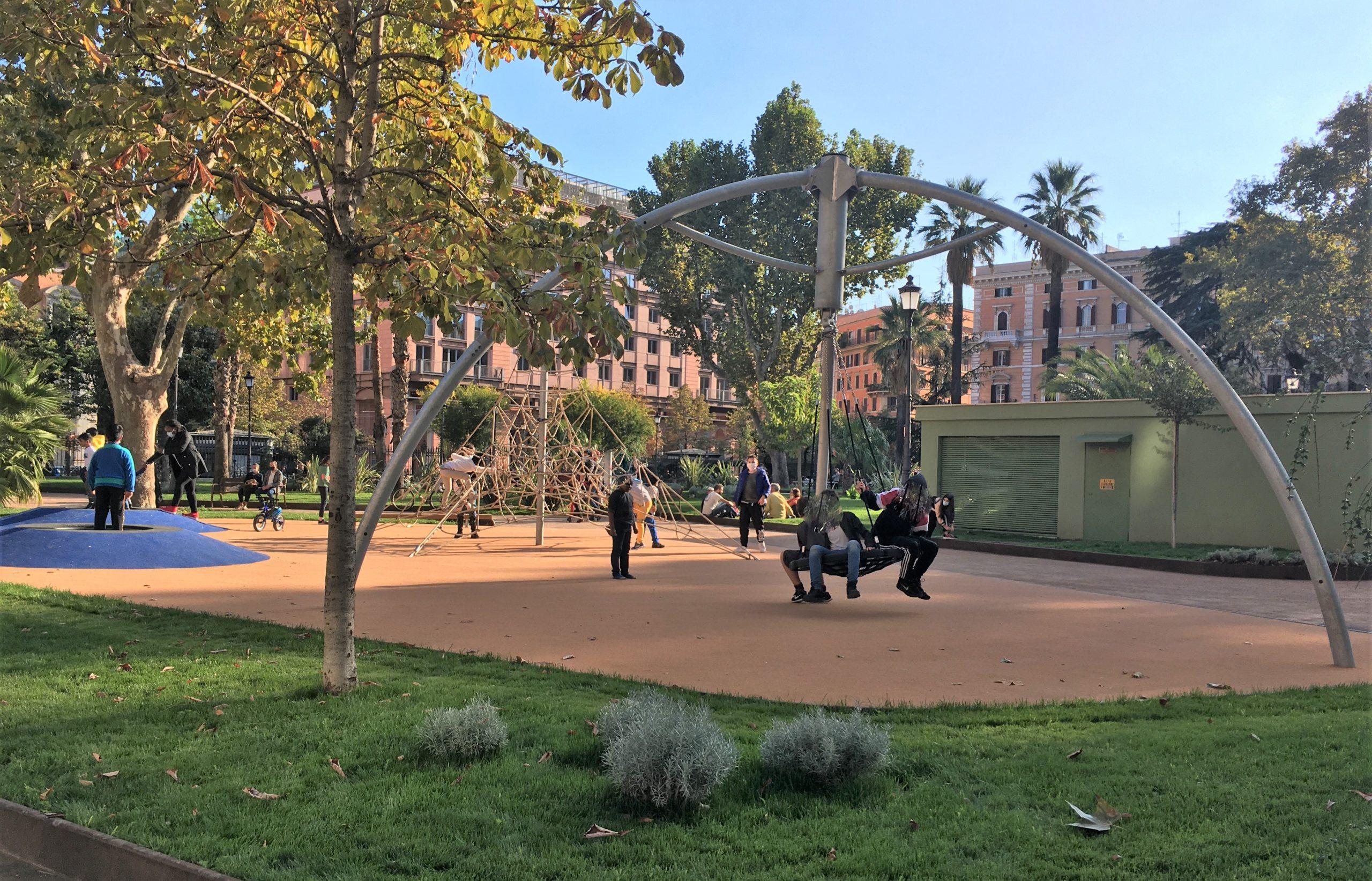 area giochi piazza vittorio