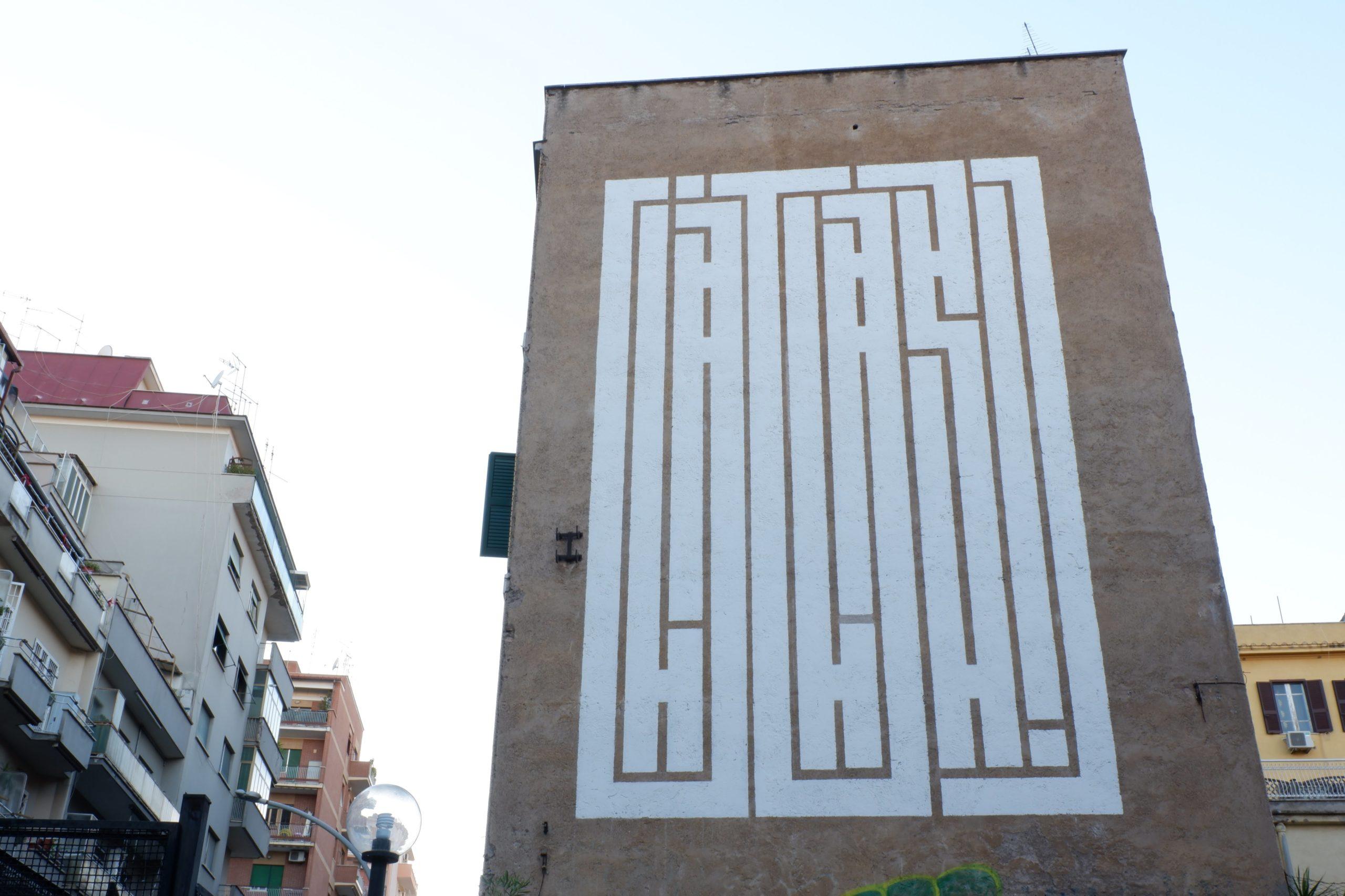 atlas murales tor pignattara roma