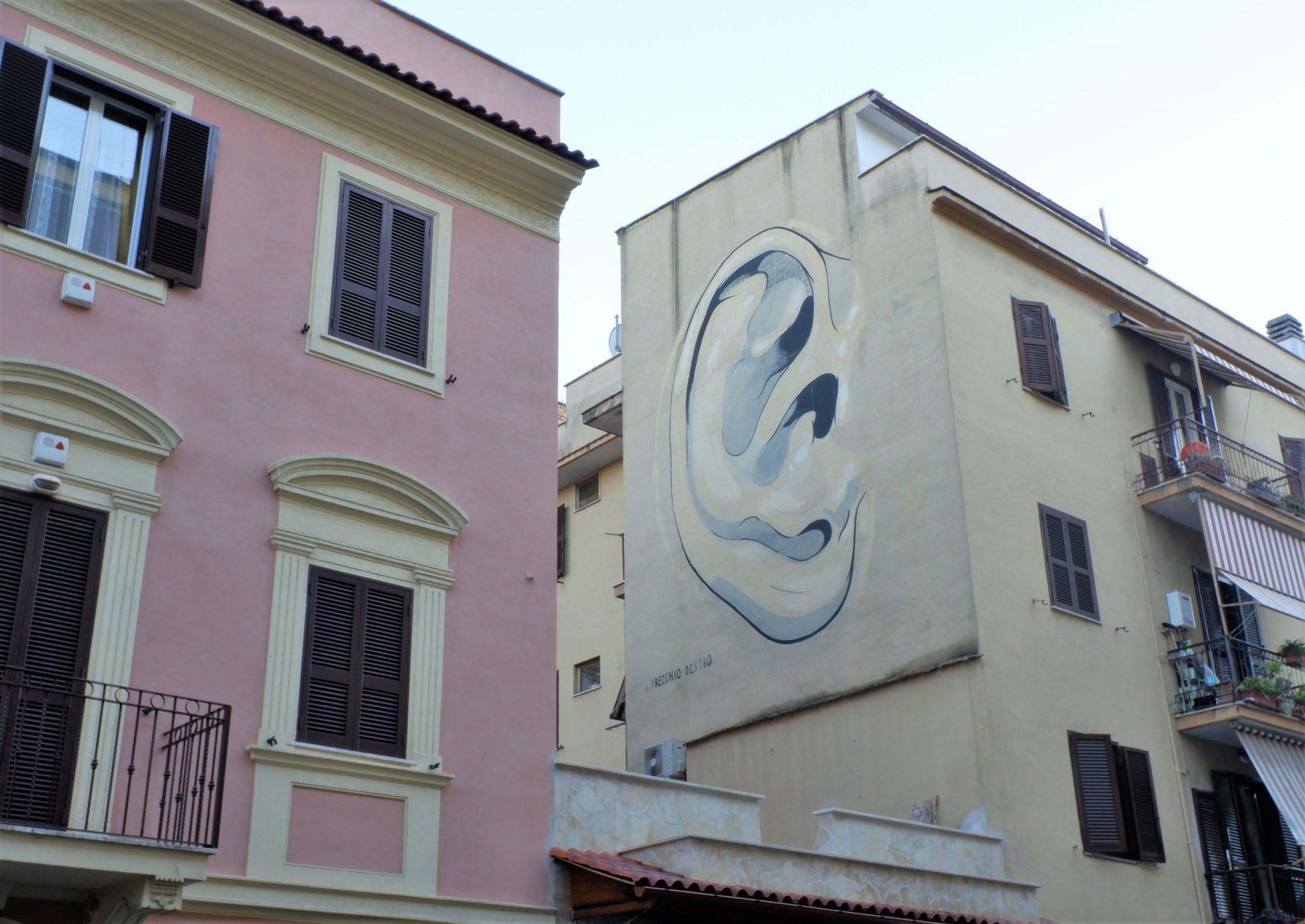 escif street art torpignattara