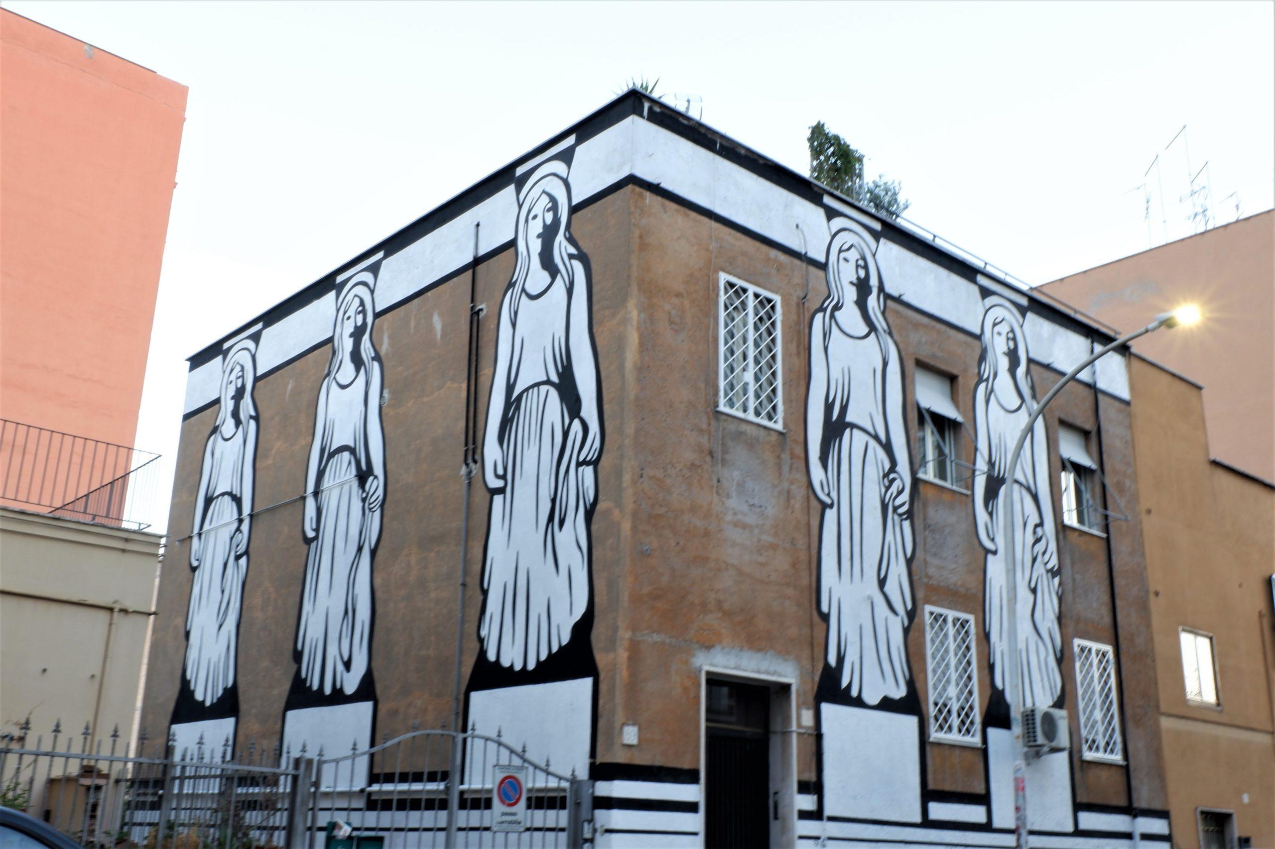 mp5 murales tor pignattara