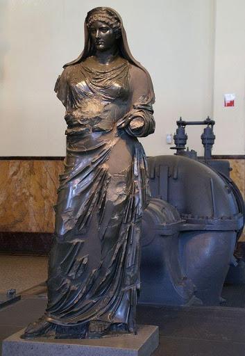 statua agrippina centrale montemartini