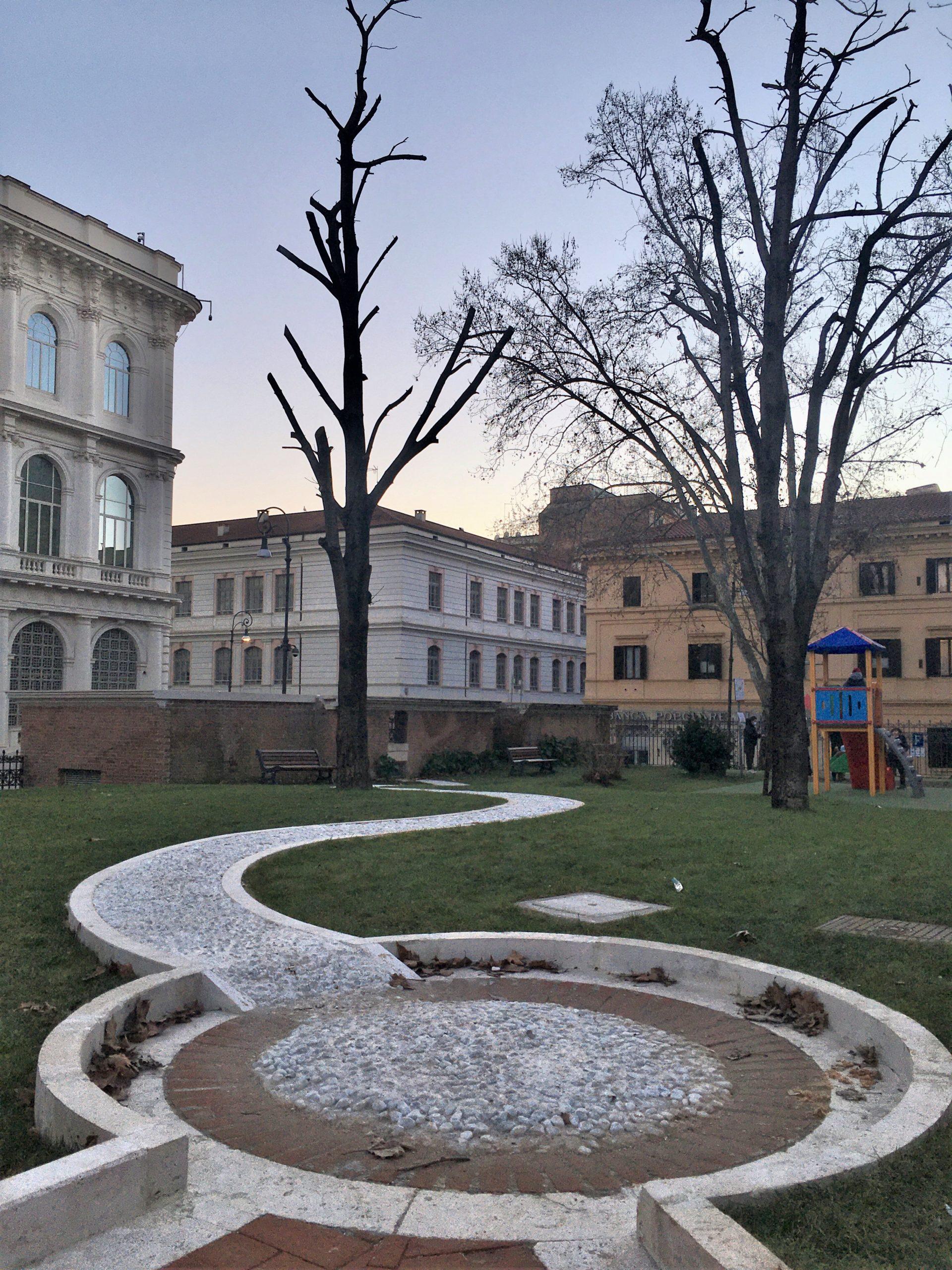 parco piazza dante roma