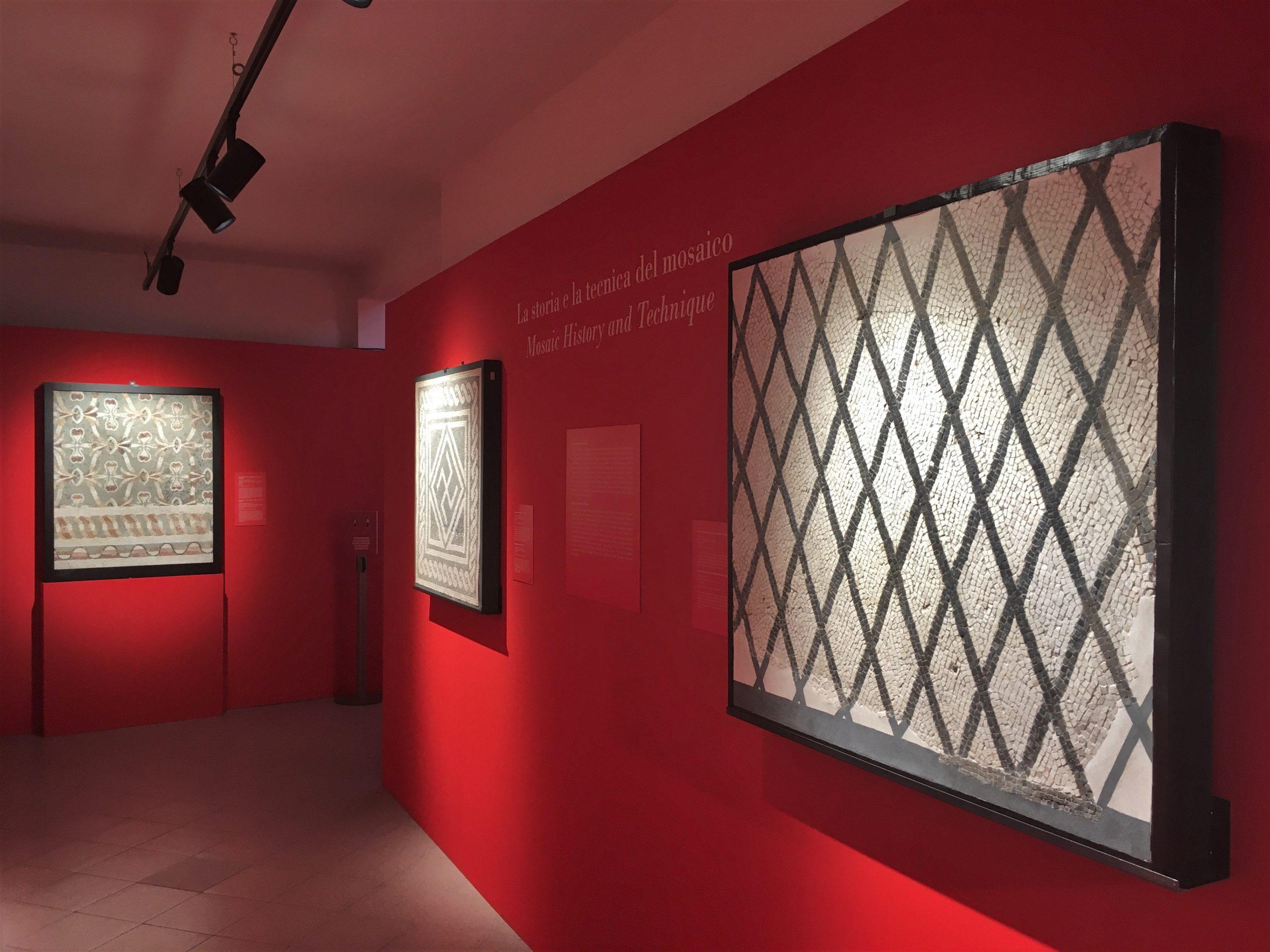 mosaici museo montemartini roma