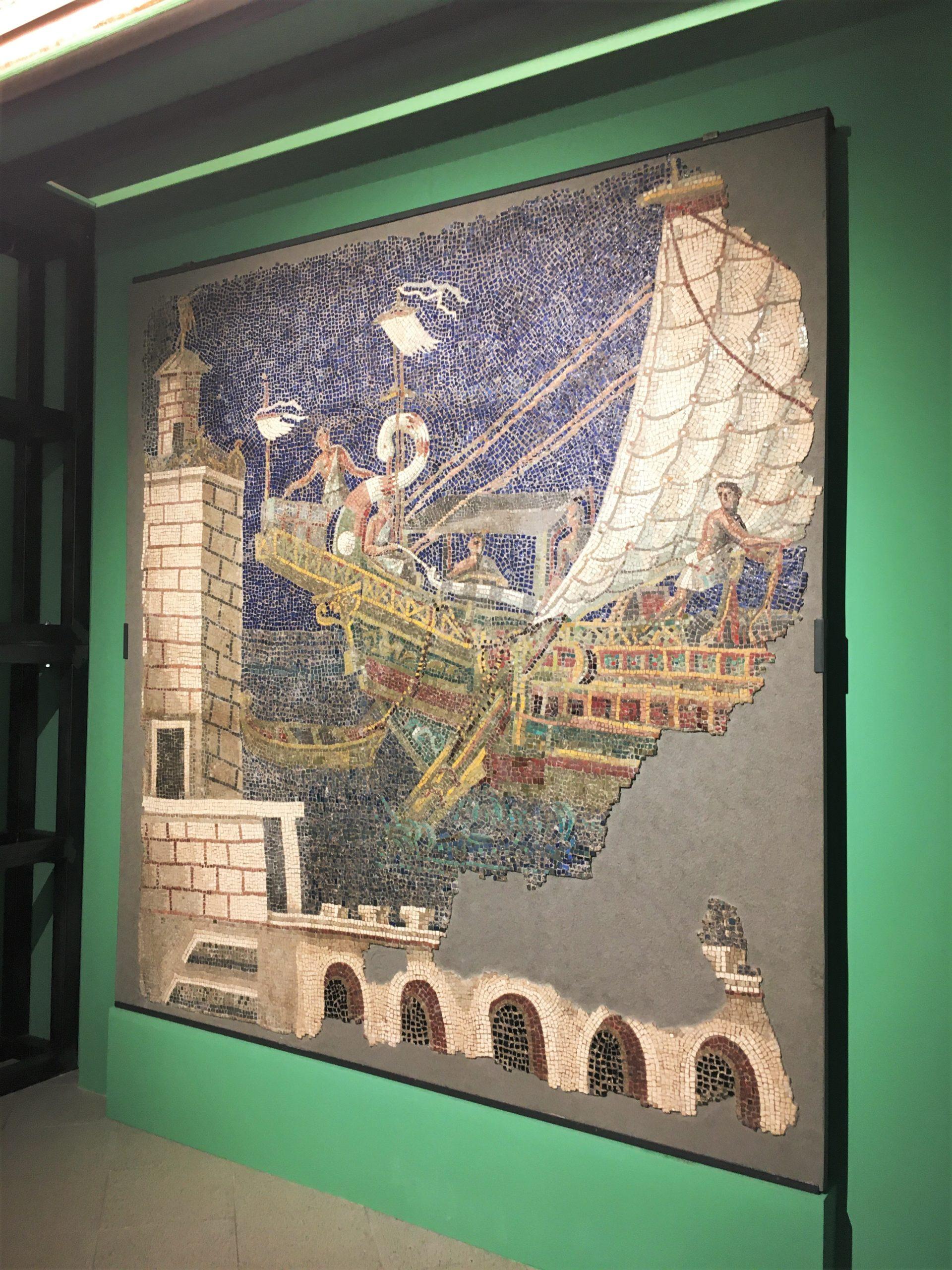 mosaico roma centrale montemartini