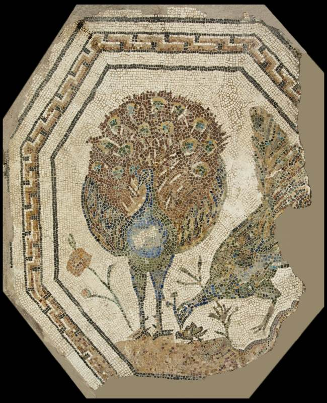 mosaico sepolcro appia antica