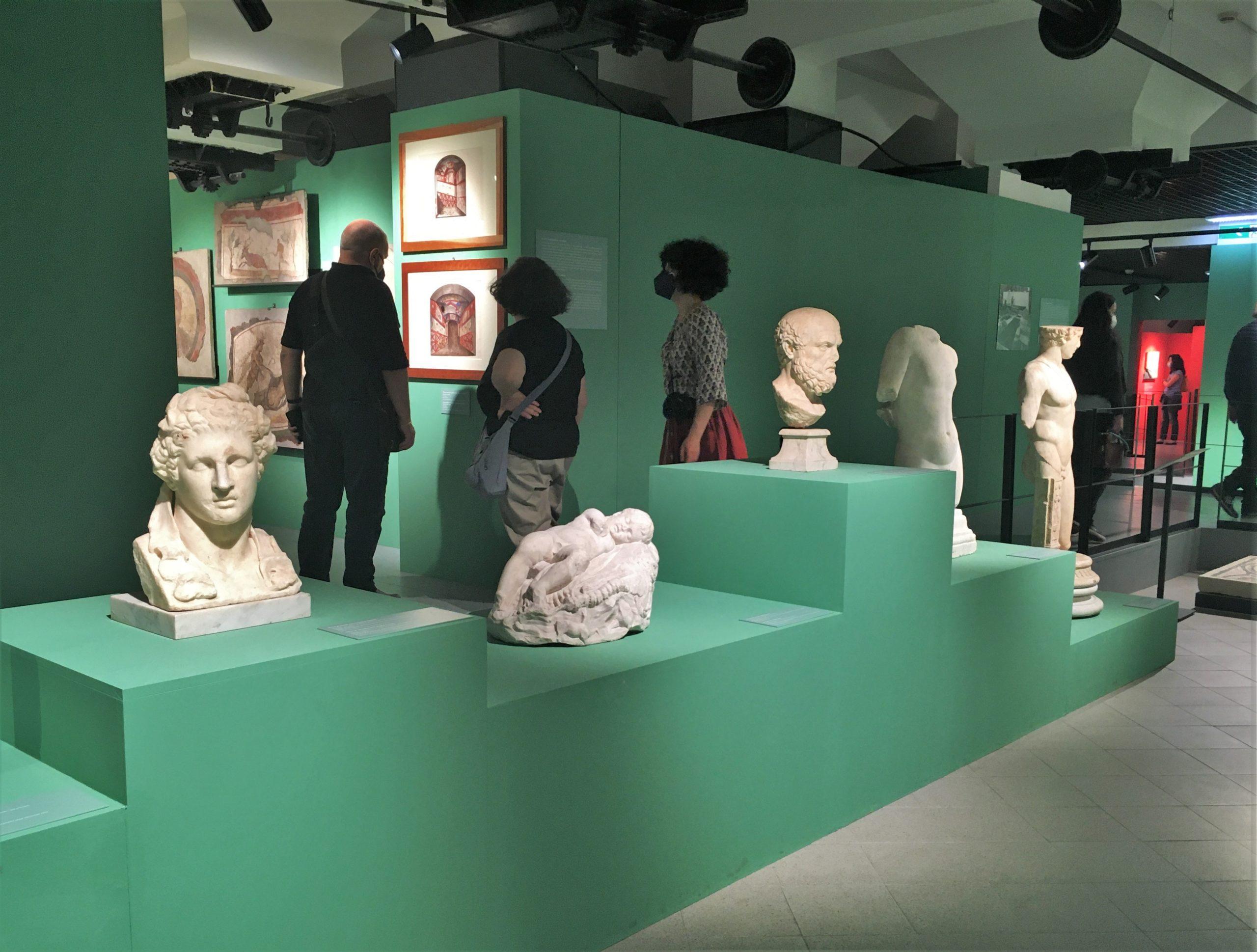 mostra colori dei romani centrale montemartini