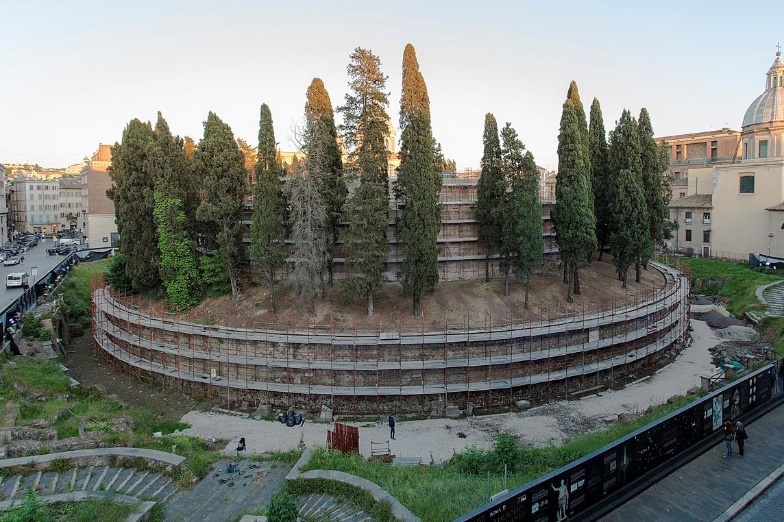 mausoleo augusto restauro