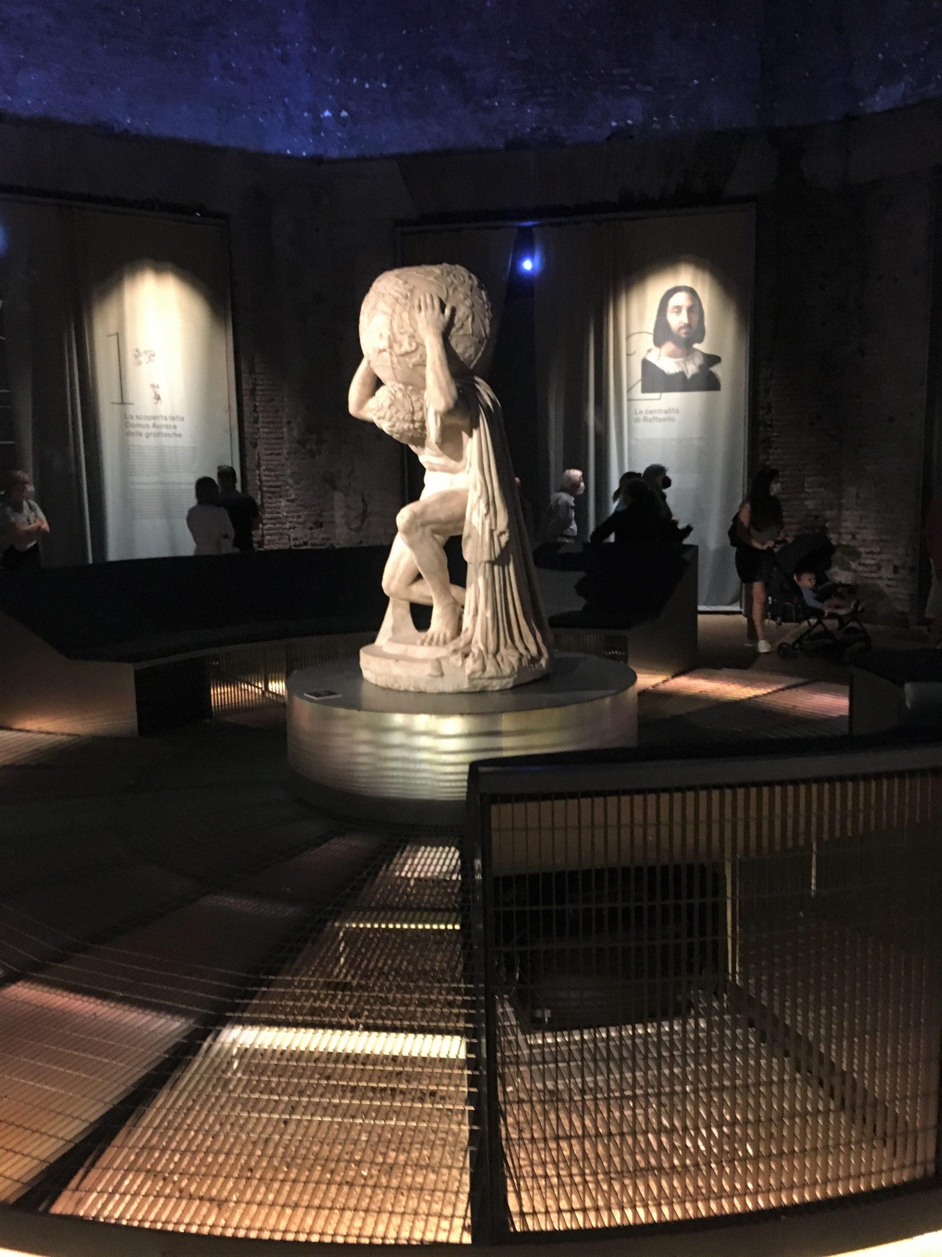 aula ottagona domus aurea