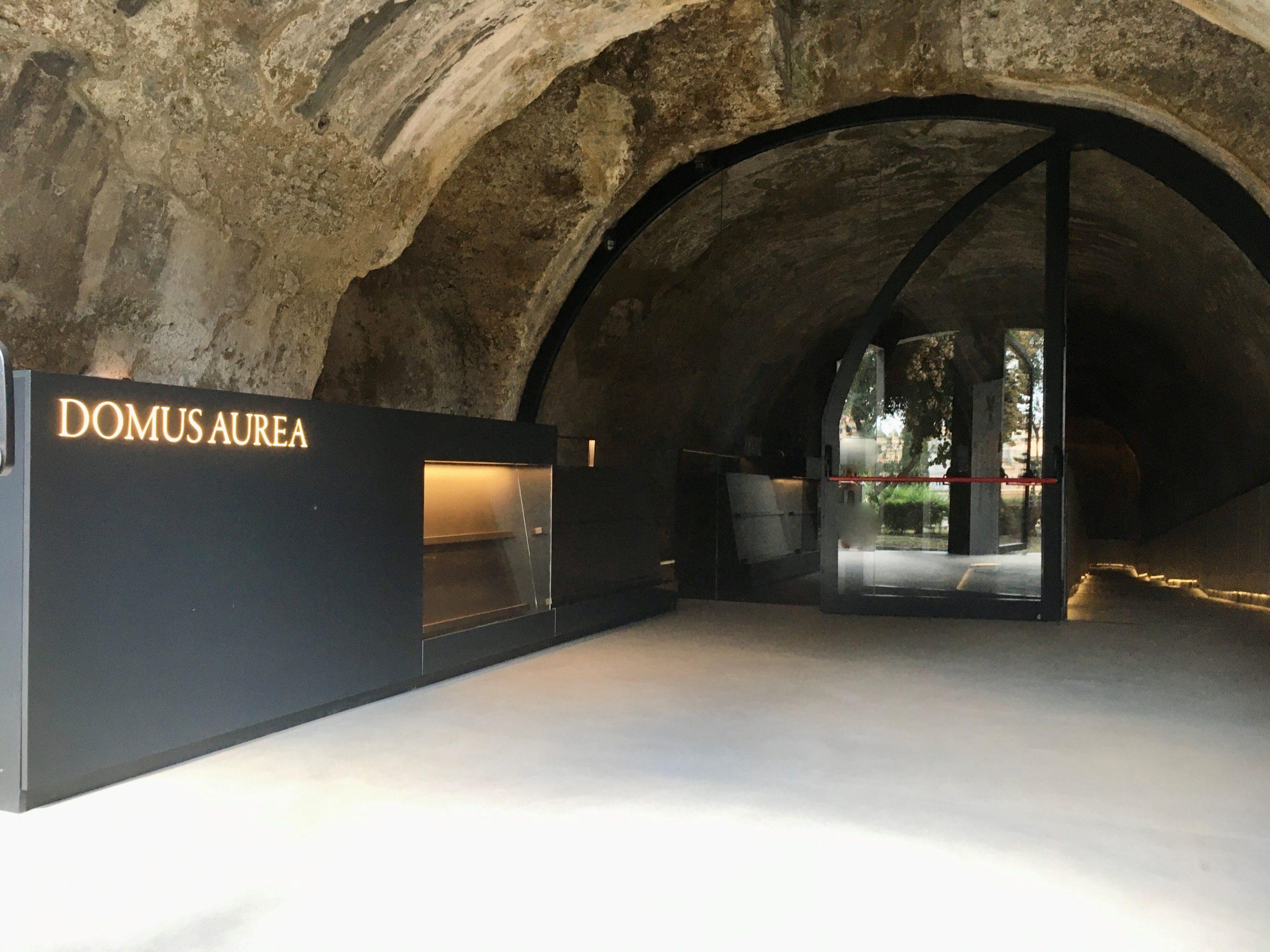 domus aurea ingresso via serapide